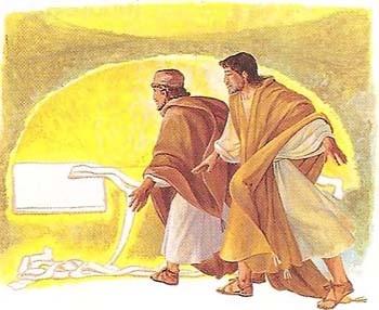 Ecco La Nostra Speranza Il Sepolcro Vuoto Un Cammino Di Speranza